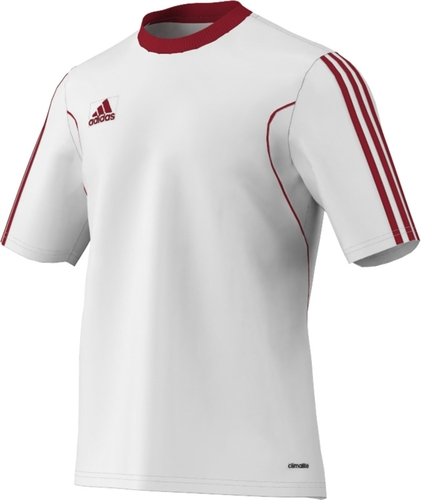 MAILLOT DE MATCH-SQUADRA MATCH JERSEY-ADIDAS-HOMME-WHITE/POWER RED