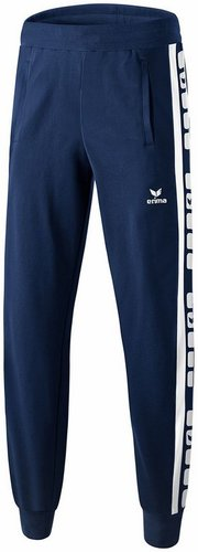 SWEAT & PANTALON SPORTSWEAR-PANTALON SWEAT 5-CUBES ENFANT-ERIMA-ENFANT-NEW NAVY/BLANC