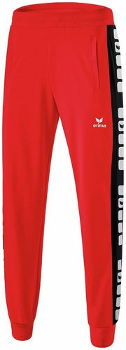 SWEAT & PANTALON SPORTSWEAR-PANTALON SWEAT 5-CUBES ENFANT-ERIMA-ENFANT-ROUGE/NOIR