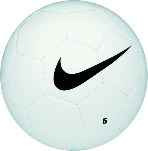 BALLON-NIKE TEAM TRAINING-NIKE--Blanc