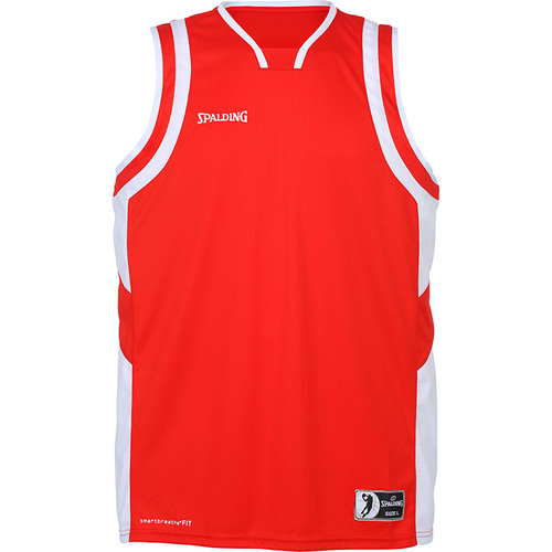 MAILLOT DE MATCH-ALL STAR TANK TOP-SPALDING-HOMME-ROUGE/BLANC
