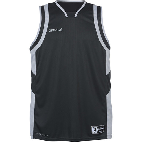 MAILLOT DE MATCH-ALL STAR TANK TOP-SPALDING-HOMME-ANTHRACITE/GRIS ARGENT