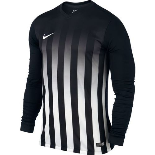 MAILLOT DE MATCH-STRIPED DIVISION LS JERSEY -NIKE-HOMME-BLACK/WHITE