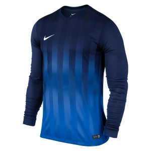 MAILLOT DE MATCH-STRIPED DIVISION LS JERSEY -NIKE-HOMME-MIDNIGHT NAVY/ROYAL BLUE