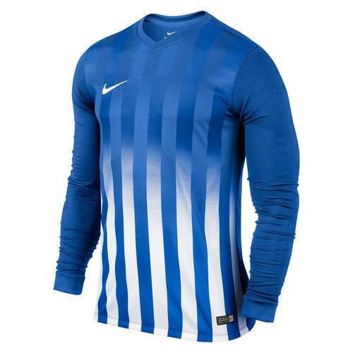 MAILLOT DE MATCH-STRIPED DIVISION LS JERSEY -NIKE-HOMME-ROYAL BLUE/WHITE