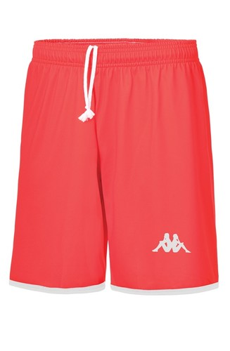 SHORT DE MATCH-NORCIA SHORT-KAPPA-FEMME-ROUGE
