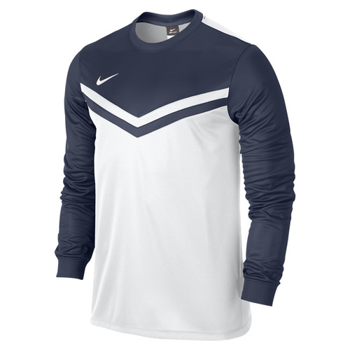 MAILLOT DE MATCH-VICTORY LS JERSEY -NIKE-HOMME-BLANC/MARINE
