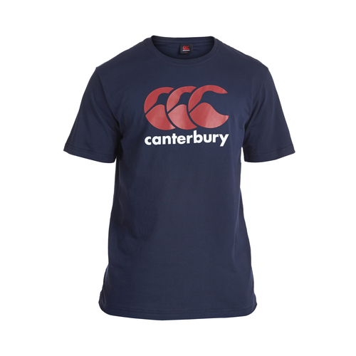 TEE-SHIRT DE SORTIE-TEAM CCC LOGO T-SHIRT ENFANT-CANTERBURY-ENFANT-NAVY/RED/WHITE