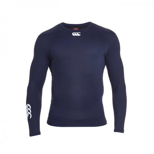 COMPRESSION-THERMOREG LONG SLEEVE TOP-CANTERBURY-HOMME-NAVY