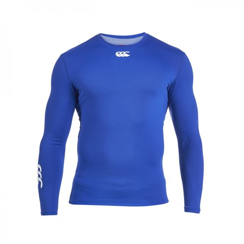 COMPRESSION-THERMOREG LONG SLEEVE TOP-CANTERBURY-HOMME-OLYMPIAN BLUE
