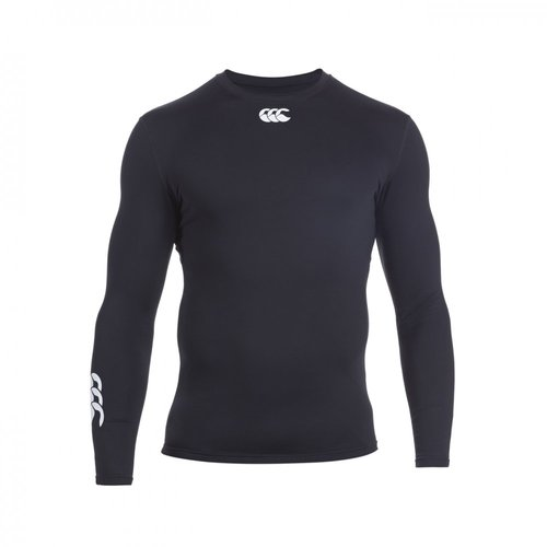 COMPRESSION-THERMOREG LONG SLEEVE TOP ENFANT-CANTERBURY-ENFANT-BLACK