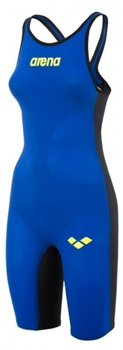 COMBINAISON-POWERSKIN CARBON AIR CLOSED FEMME-ARENA-FEMME-BLEU