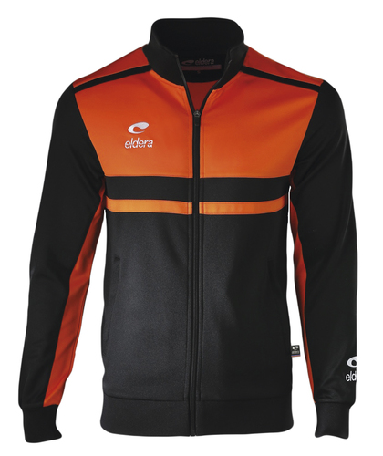 SURVETEMENT POLYESTER-Veste Allure-ELDERA--NOIR/ORANGE