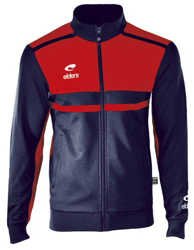 SURVETEMENT POLYESTER-Veste Allure-ELDERA--MARINE/ROUGE