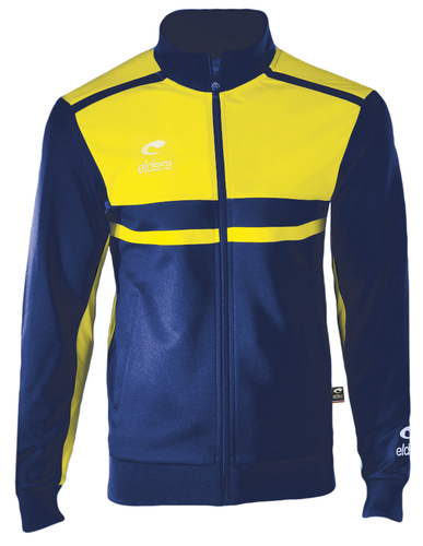 SURVETEMENT POLYESTER-Veste Allure-ELDERA--ROYAL/JAUNE