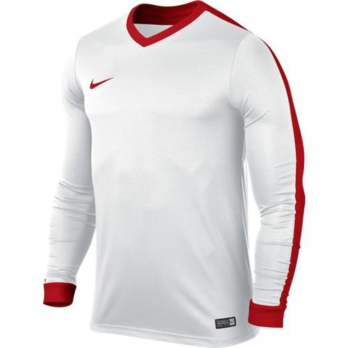 MAILLOT DE MATCH-STRIKER IV LS JERSEY -NIKE-HOMME-WHITE/RED UNIVERSITY