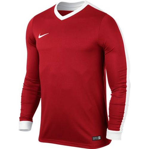MAILLOT DE MATCH-STRIKER IV LS JERSEY -NIKE-HOMME-UNIVERSITY RED/WHITE