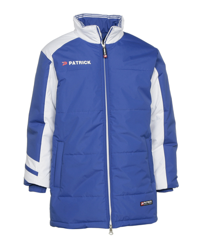 VESTE HIVER-PADDED JACKET-PATRICK-HOMME-ROYAL BLUE/WHITE