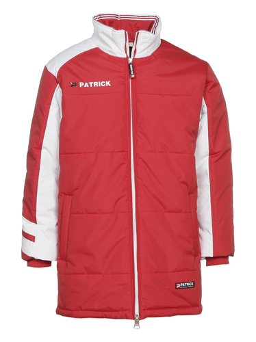 VESTE HIVER-PADDED JACKET-PATRICK-HOMME-RED/WHITE