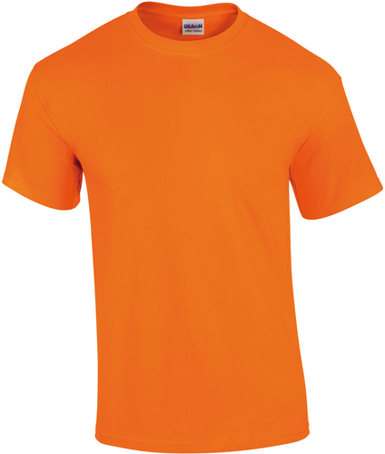 TEE-SHIRT DE SORTIE-T-shirt adulte Ultra cotton-RALAWISE--SAFETY ORANGE