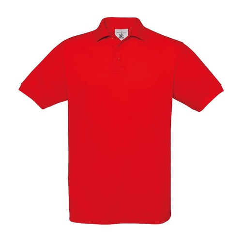 POLO-POLO B&C Safran-RALAWISE-HOMME-ROUGE