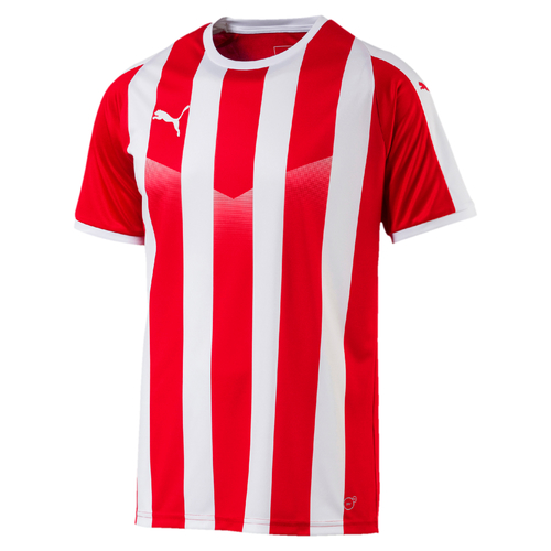MAILLOT DE MATCH-LIGA Jersey Striped-PUMA-HOMME-RED/WHITE