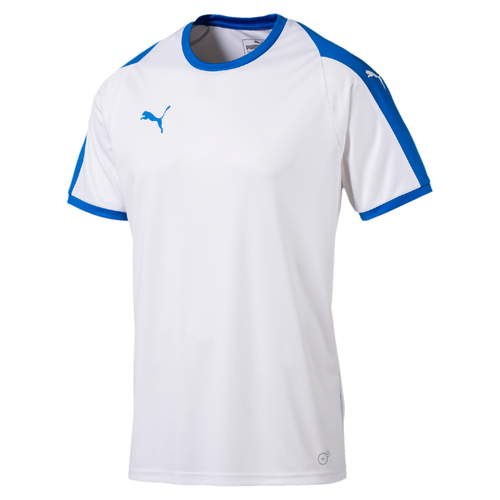 MAILLOT DE MATCH-LIGA Jersey -PUMA-HOMME-WHITE / ELECTRIC BLUE