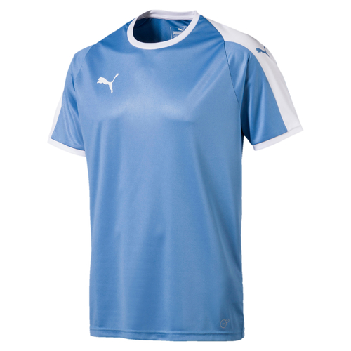 MAILLOT DE MATCH-LIGA Jersey -PUMA-HOMME-SILVER LAKE BLUE/ WHITE