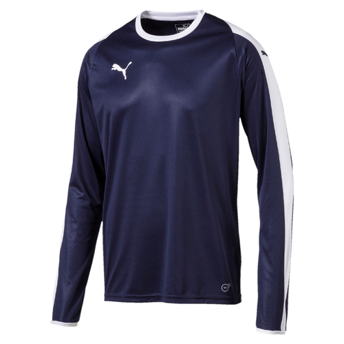 MAILLOT DE MATCH-LIGA Jersey LS-PUMA-HOMME-PEACOAT/WHITE