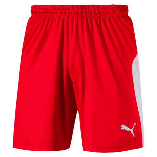 SHORT DE MATCH-LIGA Shorts Enfant-PUMA-ENFANT-RED/WHITE