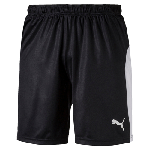 SHORT DE MATCH-LIGA Shorts Enfant-PUMA-ENFANT-BLACK/WHITE