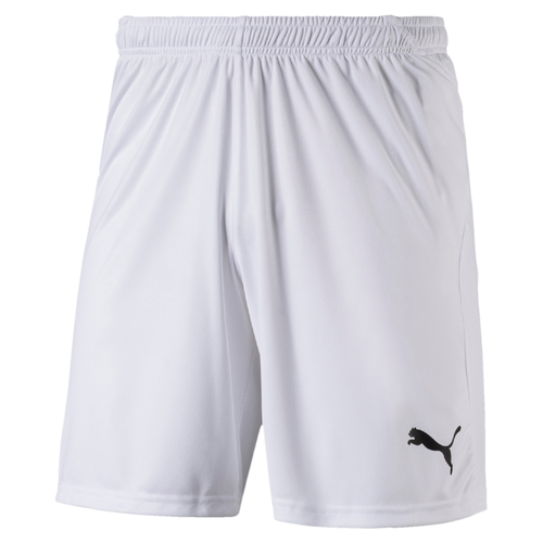 SHORT DE MATCH-LIGA Shorts Enfant-PUMA-ENFANT-WHITE/BLACK