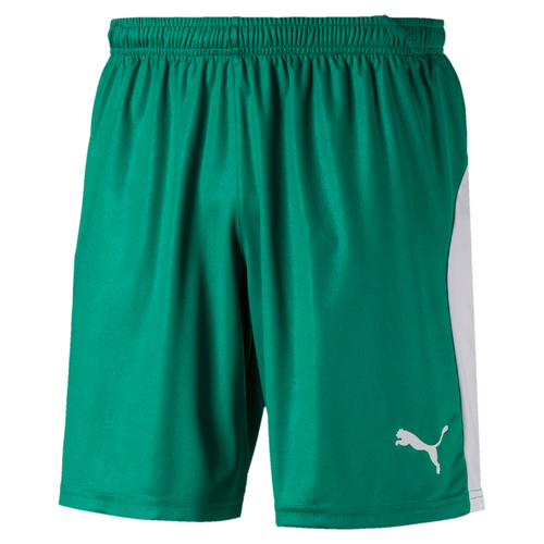SHORT DE MATCH-LIGA Shorts Enfant-PUMA-ENFANT-PEPPER GREEN/WHITE