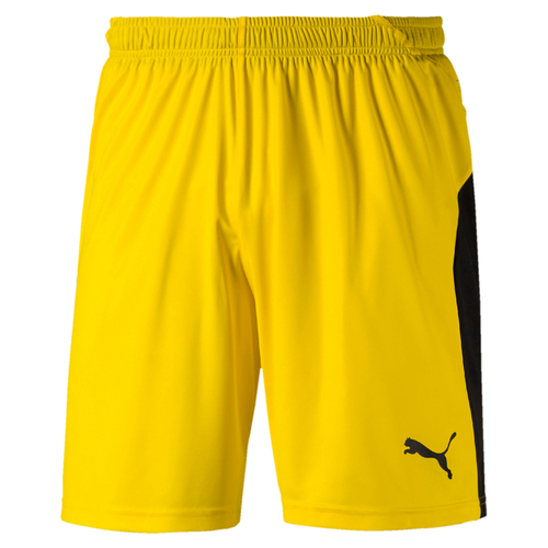 SHORT DE MATCH-LIGA Shorts Enfant-PUMA-ENFANT-YELLOW/BLACK