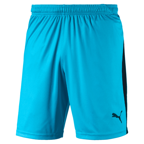 SHORT DE MATCH-LIGA Shorts Enfant-PUMA-ENFANT-AQUARIUS/BLACK