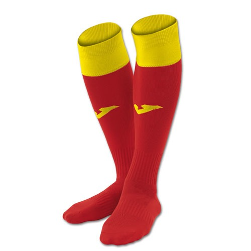 CHAUSSETTES-CHAUSSETTES JOMA CALCIO 24-JOMA-FEMME-RED/YELLOW