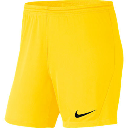 SHORT DE MATCH FOOTBALL NIKE PARK III KNIT FEMME